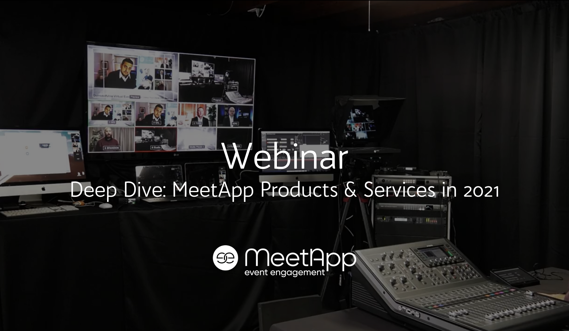 Deep Dive Live Stream: MeetApp Products and Services in 2021